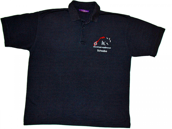 NAF Polo-Shirt navy/blau
